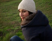 The Campfire Beanie (Crocheted and Available in 12 Colors)