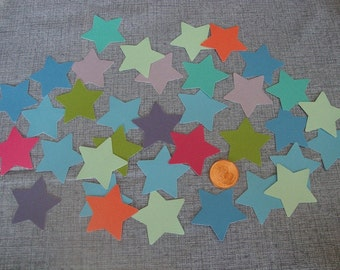 PIF Die Cut Stars, Assorted Lot, 300 Count