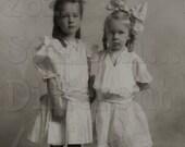 Vintage Photo,SweetSisters, Digital Download
