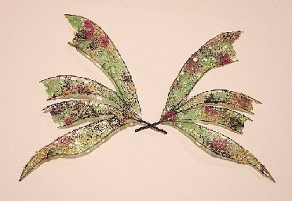 Fairy Wings-Ooak-Iridescent-Harlequin-Create Wings by Request