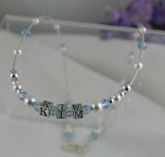 Personalized Keepsake Necklace for Little Girls