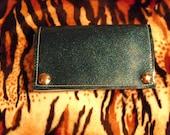Blue-green Metal Flake Wallet