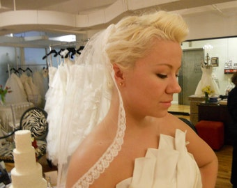 Small Veil For 1st Communion Or For Bridal
