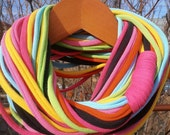 Infinity Scarf - VERY multi-colored