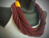 Infinity Scarf - Maroon Color
