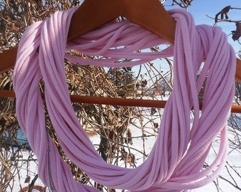 Infinity Scarf - Light Pink Color