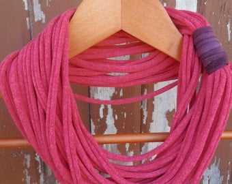 Infinity Scarf - Dusty Red