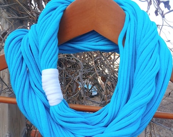 Infinity Scarf - Caribbean Blue Color