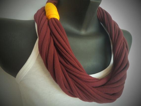 Infinity Scarf - Maroon Color