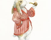 Norbert the Rabbit - Limited Edition Print