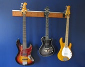 Wall Mount Slatwall Guitar Rack  Hanger