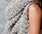 Morgan Cowl Neck, Grey