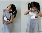 Reserved for Kate. You've Got Mail Dress for Girls by minimoo handmade on Etsy.