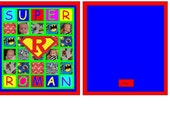Super Roman Custom Baby Quilt for mellie2314 - Deposit Only