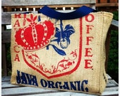 Limited Edition Tote Bag - Eco-Friendly, Handmade from a Recycled Coffee Sack