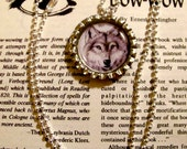 Wolf, Gray, Pendant Necklace by Oneta