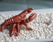 Home Decor Crawfish Paperweight or Table Decor
