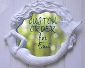 CUSTOM ORDER for Emi