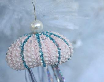 Jelly Fish Christmas Ornament - Sea Urchin Ornaments