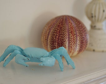 Shabby Little Crabby - Cast Iron Crab - PICK YOUR COLOR