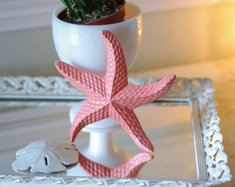 Beach Decor Cast Iron Starfish  - PICK YOUR COLOR