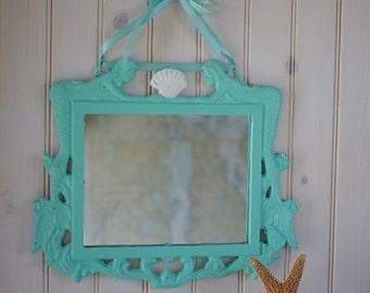 Mermaids & Shell Beach Mirror