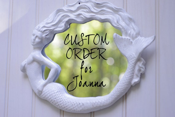 CUSTOM ORDER for Joanna (jmg5001)