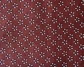 Quilt Fabric. Vintage Autumn Rust Fabric Geometric Cotton Print  on Etsy