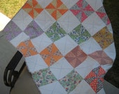 Pinwheels with bright white squares
