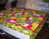 Wonderful vegetarian quilt