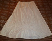 White Cotton Skirt, Traditional Indian Wedding Petticoat