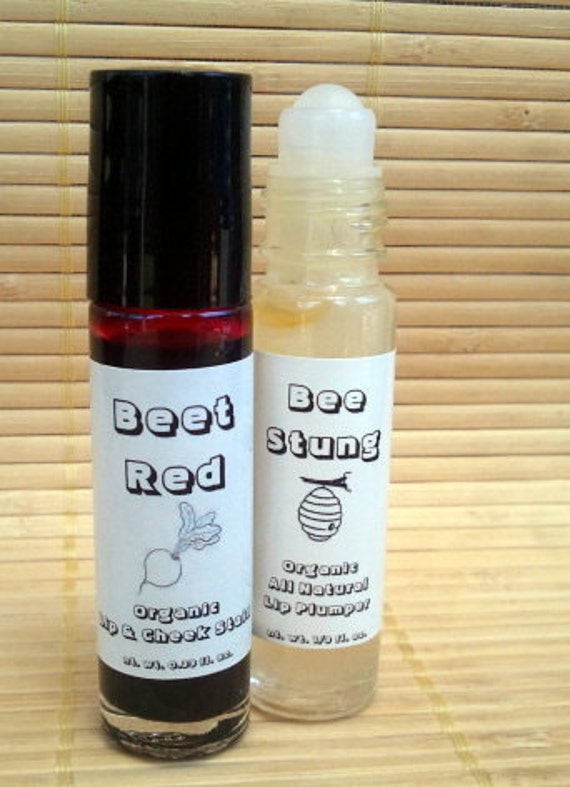 Lip Plumper AND Cheek Stain Vegan ALL NATURAL