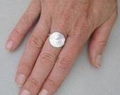 Sand Dollar Ring (small)