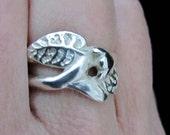 Silver Vine Ring