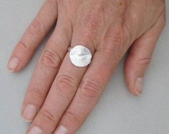 Sand Dollar Ring (small)