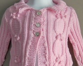Knitted Cable Baby Jacket