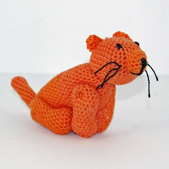Marmaduke the Crochet Kitty Cat