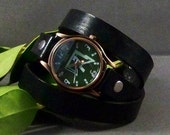 Leather Watch (Fashion Antique Bronze)