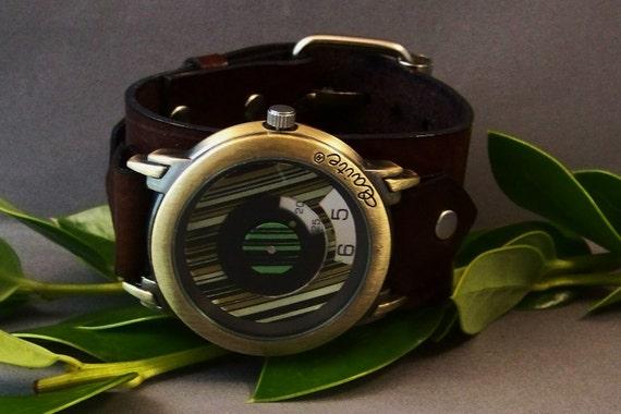 Leather Watch (Fashion Watchband)