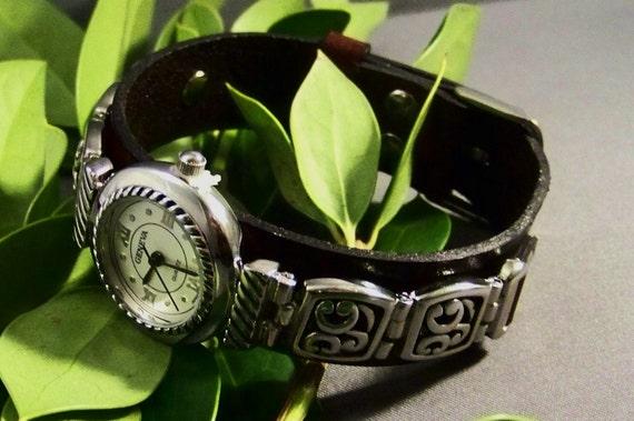 Leather Antique Bracelet Watchband