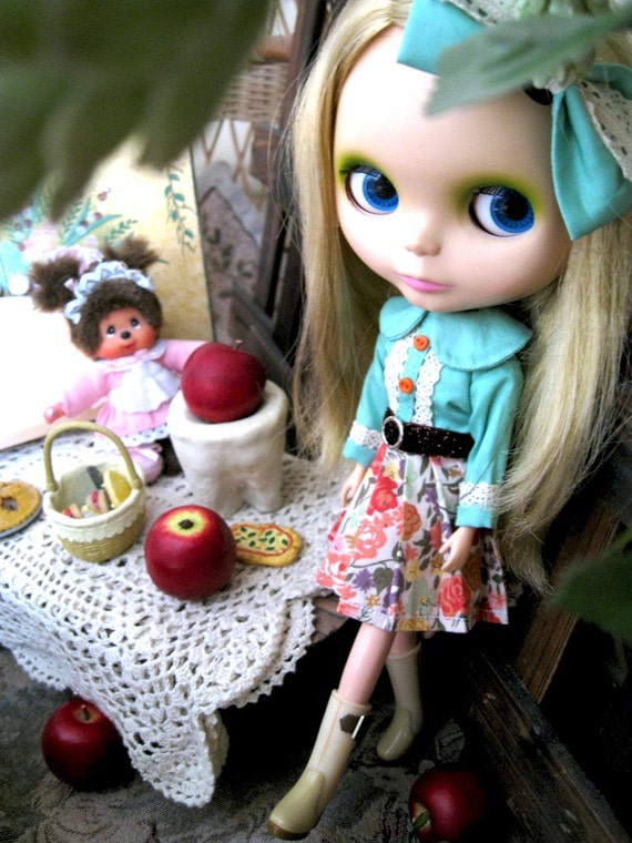 Blythe outfit Precious Moment by POMMECOPINE 003