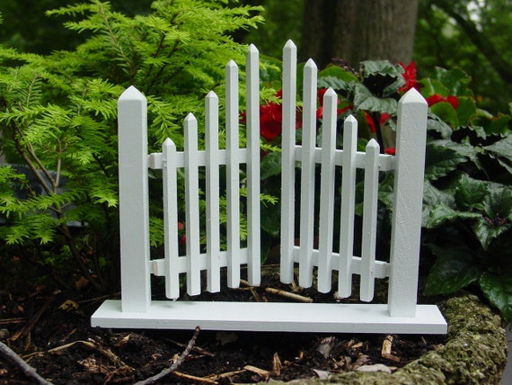 Handmade Vintage Style Fairy Garden Gate