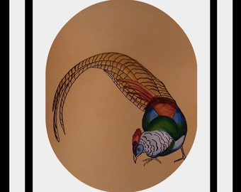 original bird painting