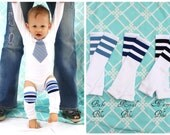 Custom listing to ADD Football Striped Leg Warmers to your CURRENT order