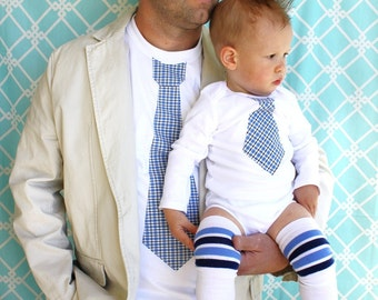 1 Men's Tie Tee.  Father's Day Gift for Grandpa, New Dad, Brother, Uncle, Daddy. June Fashion. Summer Wedding