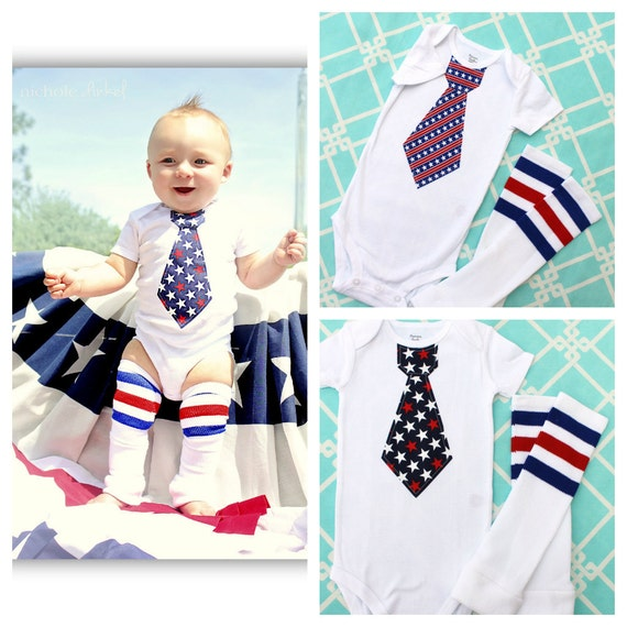 Baby Boy 4th Of July Summer Patriotic By Chiccoutureboutique