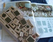 Stampin Up Retired Hostess Playful Pieces 30 stamps