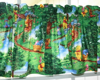 Valances Winnie The Pooh and Friends Kids Bedroom two pieces  Free Shipping