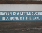 Heaven is a little closer in a home by the lake - custom home decor