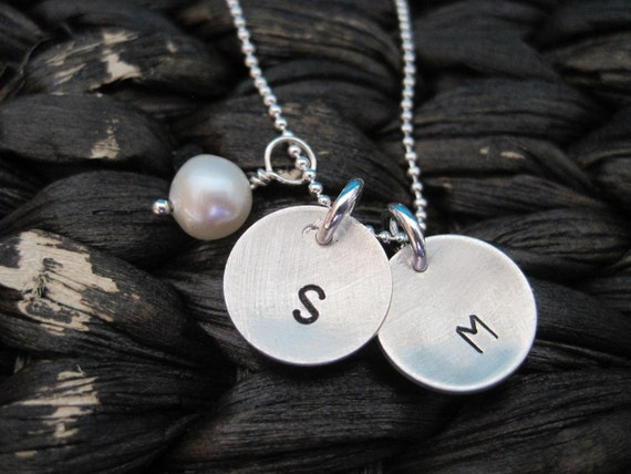 Initial Blessings - Hand Stamped & Custom Necklace